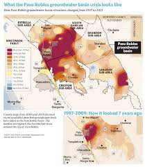Paso Robles Map Paso Robles Water District Vote Will Have Profound Impact On North