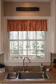 Kitchen Sink Curtain Ideas Kitchen Curtains Over Sink Window Over Kitchen Sink Curtain