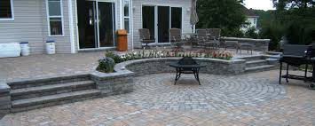 Paver Patio Kits by Outdoor U0026 Garden Octagon Brick Pavers With Paving Stone Kits And