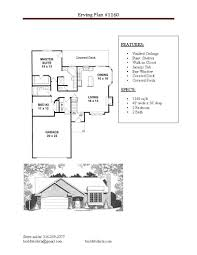 Build Wichita New Home Floor Plans 16 X 50 Floor Plans