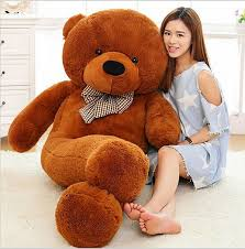 big bears for valentines day brand new 5colors teddy soft coat plush toys
