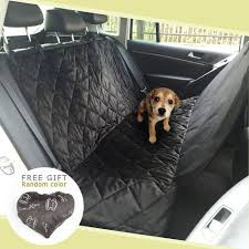 pawow large dog car seat cover pet travel hammock waterproof