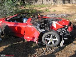 worst bugatti crashes car word designs ferrari on fire
