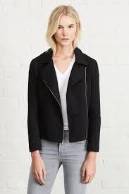 moto style jacket kala ponte moto jacket black u2013 jackets u2013 amour vert