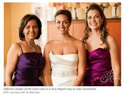 what color dress should the mother of the bride wear