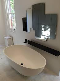 stone baths natural stone bath and black wall bathroom tapware baths