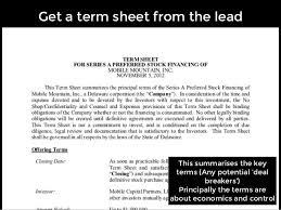 100 acquisition term sheet template purchase requisition letter