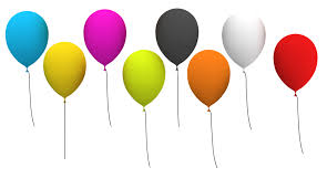 free free party balloons psd png and jpg photoshop graphics and