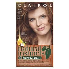 amazon com clairol natural instincts 7gr 15rg golden sienna