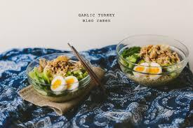 thanksgiving egg noodles thanksgiving leftovers garlic turkey miso ramen betty l