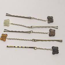 decorative bobby pins deja vu designs butterfly decorative bobby pins from s