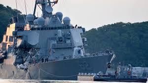 how could the navy destroyer collision happen npr