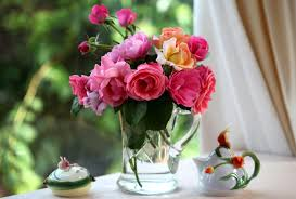 Table Flowers by Wallpaper Roses Flowers Garden Mug Table Hd Picture Image