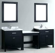 makeup vanity with sink bathroom makeup vanity and sink sk side sgle single sink bathroom