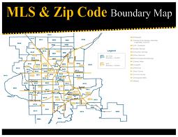 Zipcode Map Mls Zip Code Boundary Map