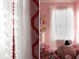 pretty pom pom curtains honest to nod