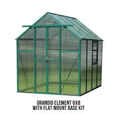 Greenhouse Starter Kits Grandio Element 6x8 Greenhouse Epic Greenhouses