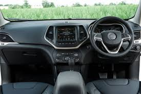 jeep cherokee dashboard jeep cherokee review good but is it good enough