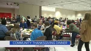la crosse community thanksgiving dinner welcomes all wkbt