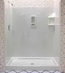 Bathroom Shower Pans Shower Pan Installation How To Install A Fiberglass Shower Base