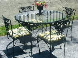 wrought iron dining table glass top glass top wrought iron dining table kitchen iron dining room sets