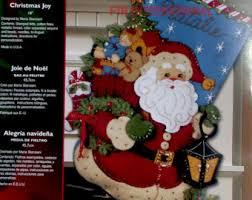 bucilla christmas bucilla christmas cookies 18 felt kit 86106 santa