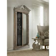 Broyhill Jewelry Armoire Glamour Floor Mirror With Jewelry Armoire Storage American Home