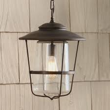 Diy Lantern Lights Outdoor Outdoor Hanging Lights Wayfair Remington Lantern