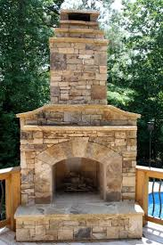 Outdoor Chimney Fireplace by Best 25 Outdoor Stone Fireplaces Ideas On Pinterest Outdoor