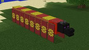 How To Make A Decorative - minecraft how to make a decorative chinese dragon youtube