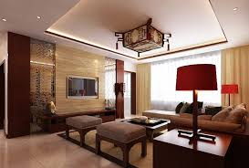Chinese Living Room Modern Traditional Design Chinese Living Room Interior