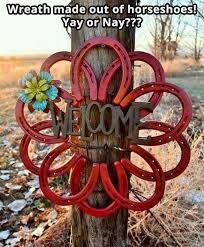 horseshoe wreath 127 best horseshoe creations u images on horseshoe