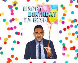 kendrick lamar birthday card biggie smalls tupac kanye