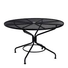 Peaceful Inspiration Ideas  Inch Round Outdoor Dining Table - 60 inch round wrought iron outdoor dining tables