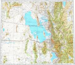 Logan Utah Map by Download Topographic Map In Area Of Salt Lake City Provo Ogden