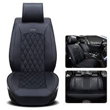 gspscn genuine leather car seat cushion square style auto seat