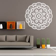 Wall Decals Mandala Ornament Indian by Online Shop Mandala Flower Indian Wall Stickers Vintage Living