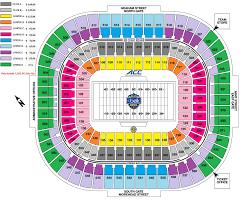 Map Of Virginia Tech by Hokiesports Com Football