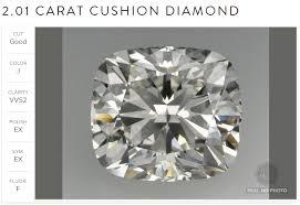2 carat cushion cut diamond 2 carat cushion cut diamond from ritani