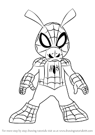 learn draw spider ham ultimate spider man ultimate
