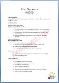 Maintenance Technician Resume Aviation Line Service Technician Resume