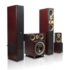 hyper sound home theater sp 6689 5 1 speaker kit wooden living