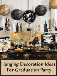 ideas for graduation party 5 hanging decoration ideas for graduation party bash corner