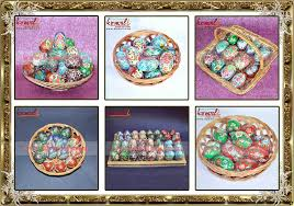 painted wooden easter eggs painted colorful wood easter eggs easter decoration indian