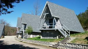 table rock cabin rentals a frame cottages at alpine lodge resort on table rock lake branson