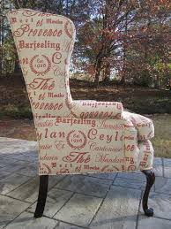 Shabby Chic Upholstery Fabric by 30 Best Upholstery Ideas For Wing Back Chair Images On Pinterest