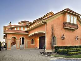 Mediterranean House Styles - modern mediterranean exterior house design mediterranean