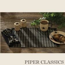 country kitchen table primitive spice placemat