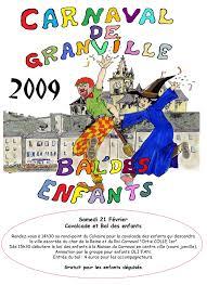 poster pour enfant retour sur 2009 carnaval de granville