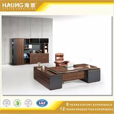 china modern office furniture with mdf panel board design photos